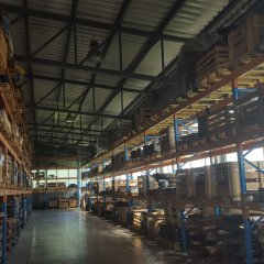 Lease, operation of storages and warehousing