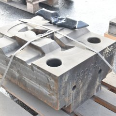 Production and deliveries of forged pieces